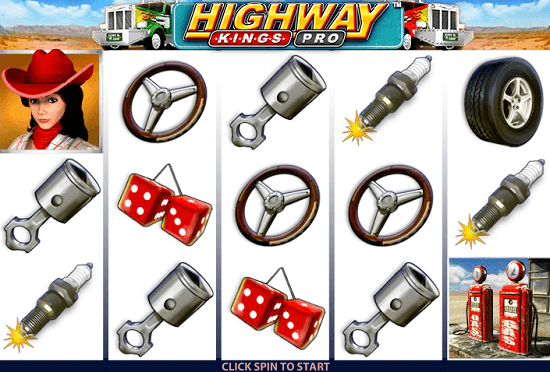 Highway Kings Pro Online Slots 9 Paylines And A Bonus Game